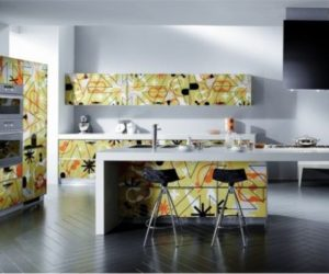 Crystal Modern Kitchen Designs by Scavolini