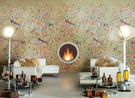 Florilege Ceramic Tiles by Novoceram