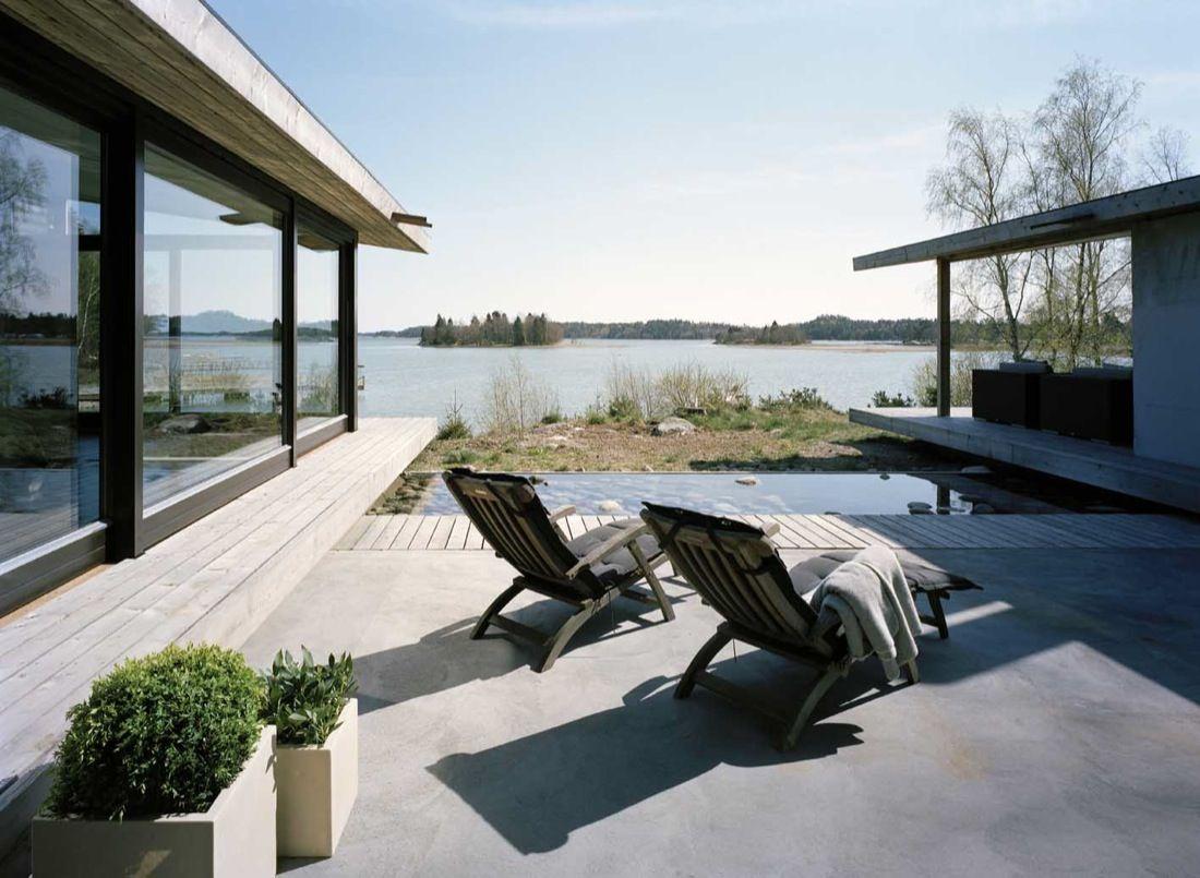 H-House by Widjedal Racki Bergerhoff pool
