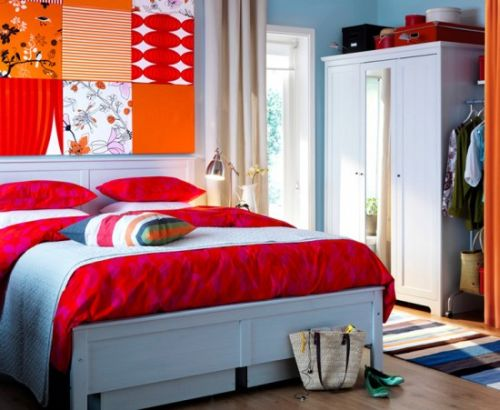 Bedroom design ideas and inspiration from the ikea catalogs for Bedroom design inspiration