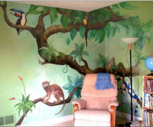 9 Beautiful Kids Wall Murals Ideas