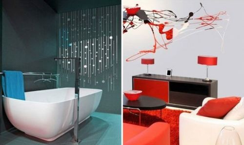 Modern Wall Stickers from Acte Deco2