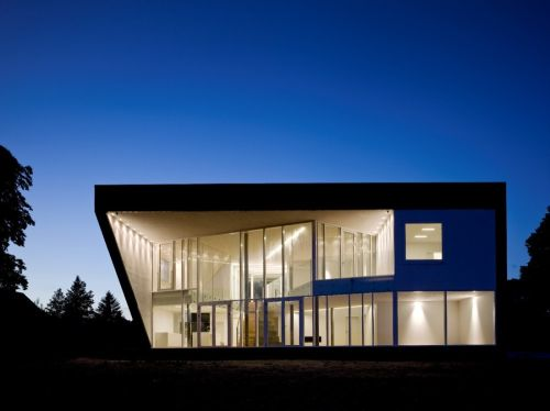 The PinBall House U2013 A Modern Residence With Sculptural Flair