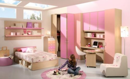 Using Pink To Decorate Your Kid\'s Bedroom – 15 Design Ideas