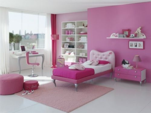 Using pink to decorate your kid s bedroom u design ideas