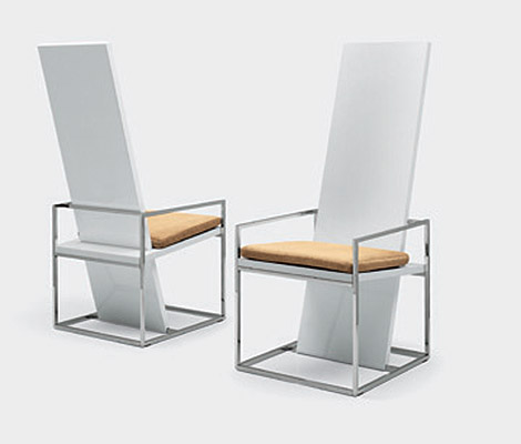 Straight Dining Chair Design By Ferruccio Laviani
