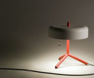 The Spun Table Lamp by Jonah Takagi