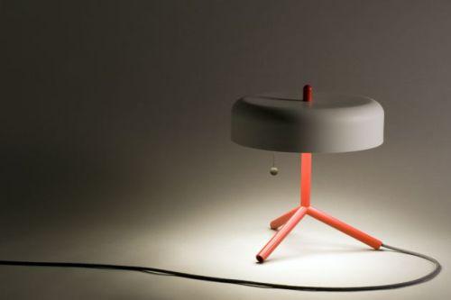 The Spun Table Lamp by Jonah Takagi