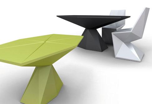 VONDOM Vertex table by Karim Rashid 1