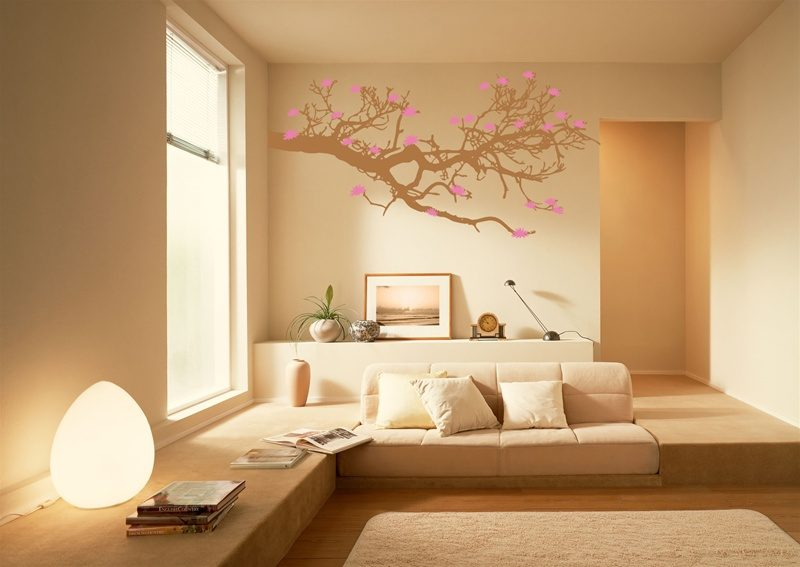 Chic wall decals inspired by nature