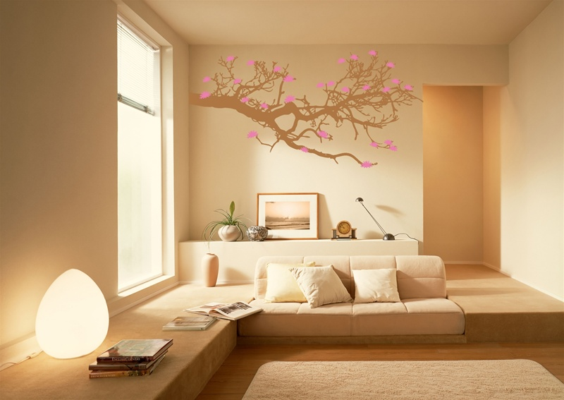 nature inspired home decor. View in gallery Chic wall decals inspired by nature