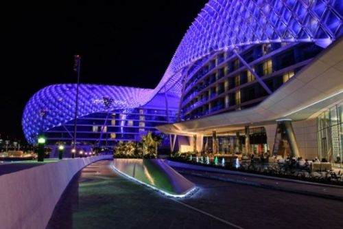 World's Largest LED Project Completed in Abu Dhabi2