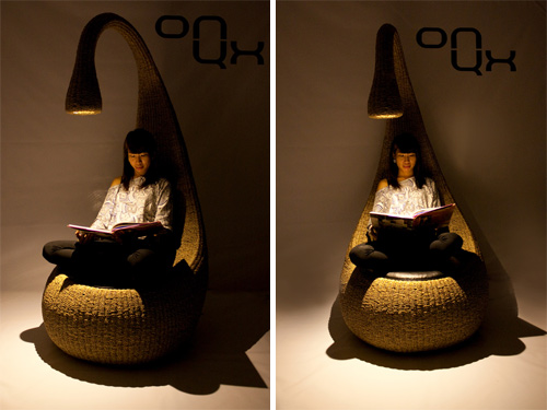 Nice Bulb Chair By Gaëtan Van De Wyer