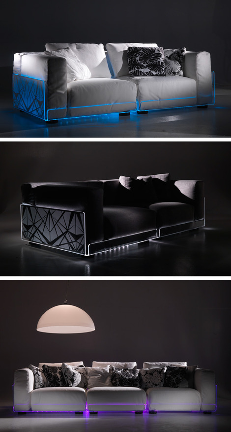 Led Lighted Sofa Colico 1 Thumb
