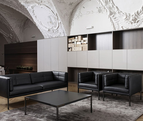 Atrium Modern Seating Furniture By New Vienna Workshop - Ds-2410-sofa-by-peter-maly-and-birgit-hoffmann