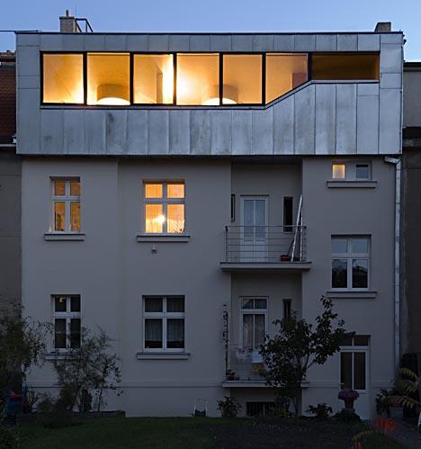 Metal Mansard Roof Adds Attic Space