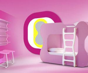Modern Childrens Bedroom Furniture by Karim Rashid