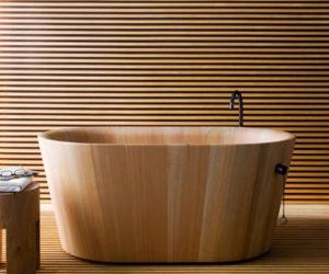 Deep Soaking Japanese Bathtubs Turn The Bathroom Into A Spa
