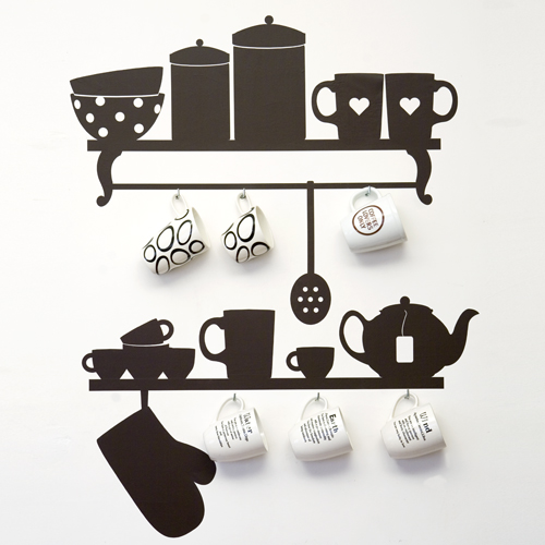 Merveilleux Wall Stickers For Kitchen Design 1