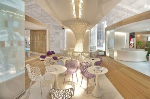 Restaurant interior design at wt hotel italy for Top design hotels italy