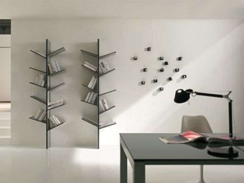 Bookshelves inspired from nature1