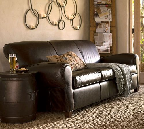 Exceptionnel High Quality Manhattan Leather Sofa