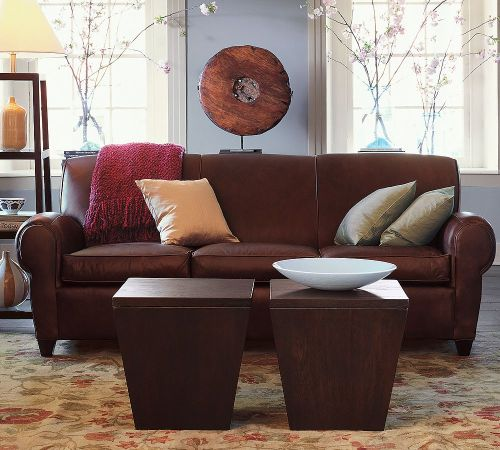 Awesome High Quality Manhattan Leather Sofa2