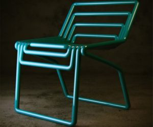 Innovative tubes chairs