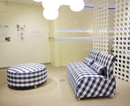Sofa and footstool by Satyendra Pakhale1