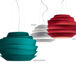 Suspension lamp with a difference