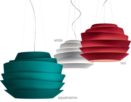 Suspension lamp with a difference1