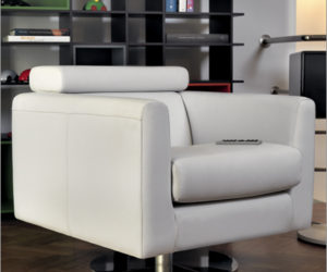 Calia Italia leather armchair