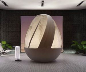 Cocoon Egg Shower Concept by Arina Komarova