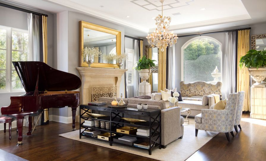 Marvelous How To Decorate With Golden Accents Good Looking
