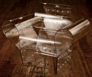 Cool Transparent Chair by Ron Arad