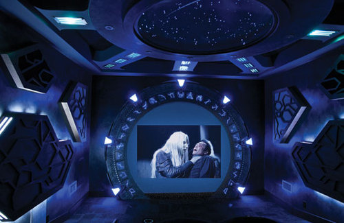 X Stargate on Sony Home Theater System Installation
