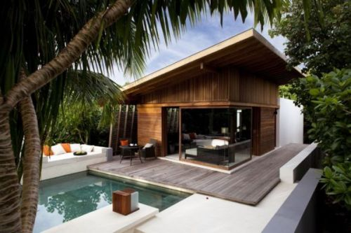 Alila Villas Hadahaa Island resort in the Maldives