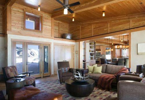 Amazing Stud Horse Mountain House By Balance Associates