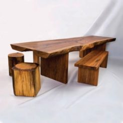 Rustic Or Polished Wood Furniture A Stylish Addition To Any Room