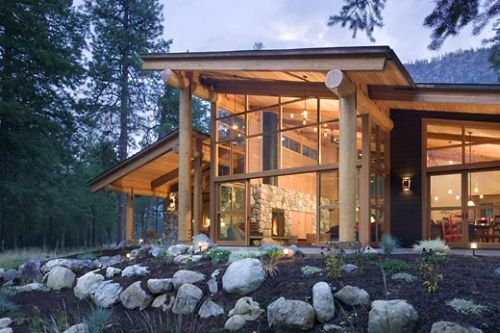 Luxury Canyon House By Balance Associates