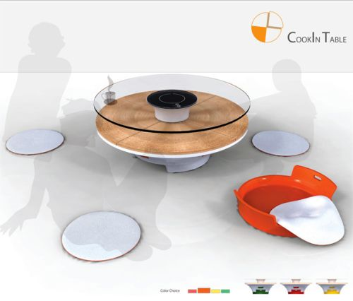 Induction cooking at its best with a Cookin Table