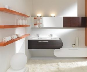 Flux_US Bathroom Furniture from Lasaidea