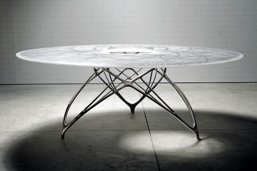 Leaf Table by Joris Laarman