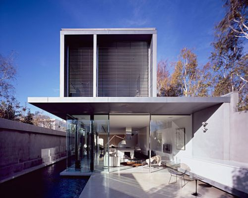 Best Modern Architects ross street residence in melbourne defines modern architecture at
