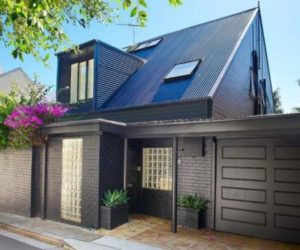 A Lovely Grey House in Paddington Sydney