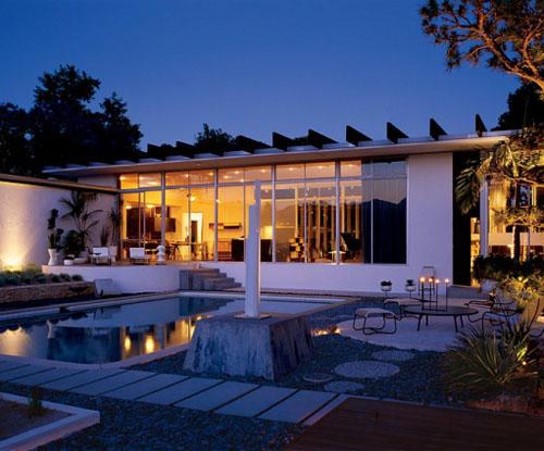 Strick House By Legendary Brazilian Modernist Oscar Niemeyer
