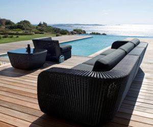 Tuva Faux Fur Bean Bag U2013 Charcoal · Savannah Furniture Line To Pep Up Your  Poolside
