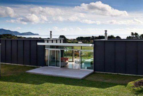 Modular Holiday Home On Pekapeka Beach New Zealand