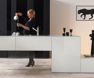 Lago Admires the Brighter Color Options for the Modern Kitchen
