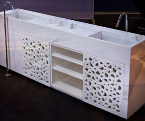 Marsotto Luxurious White Marble Accessories